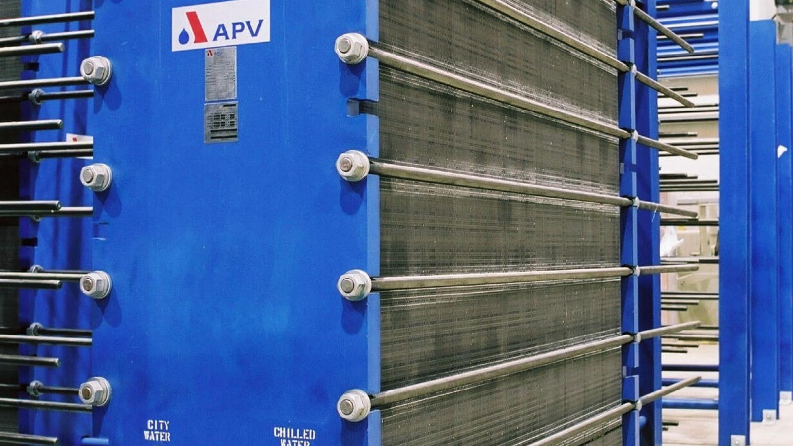 Enwave Toronto Heat Exchanger