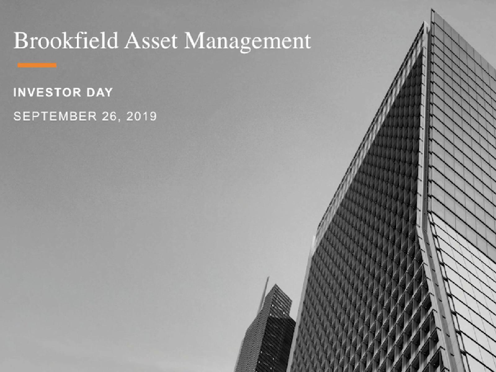 Investor Day Highlights 2019